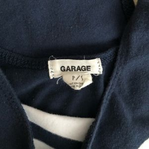 Garage Tops - Blue and white bodysuit from garage size small